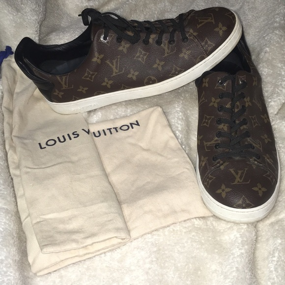 91bed6d6829 Louis Vuitton front row sneakers