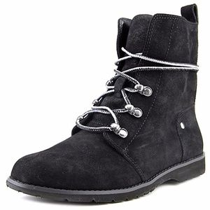BCBGeneration Womens Dover Almond Toe Ankle Boot