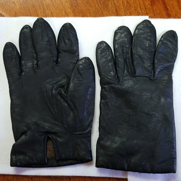 32c0844a Aris Accessories | Gloves 100 Cashmere Lined Black Leather | Poshmark