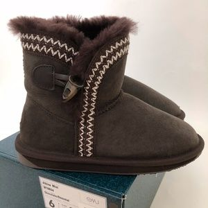 New EMU Brown Women's Boots Albina Mini 6 Zig Zag