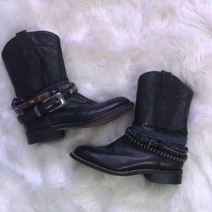 Black gypsy boots