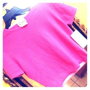 Lilly Pulitzer Cashmere Crop Top
