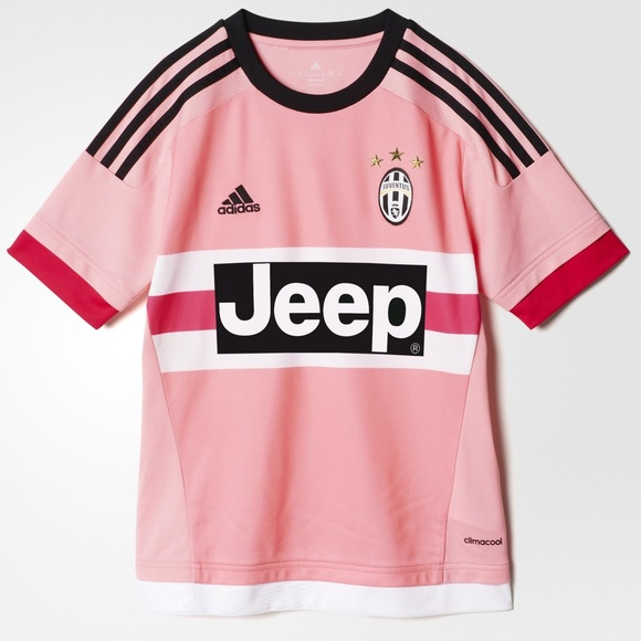 big sale b7e88 b5682 adidas Pink Juventus Jeep Soccer Jersey • NWT NWT