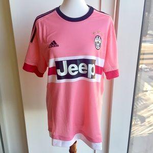 big sale 62f95 b3ead adidas Pink Juventus Jeep Soccer Jersey • NWT NWT