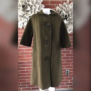 VTG Large Buttoned Trench Coat