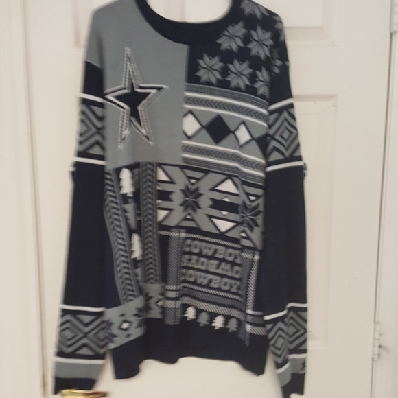best service 4b360 685be Dallas cowboys ugly sweater, 2xl or lg
