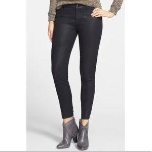 Articles Of Society Mya Coated Moro Skinny Jeans