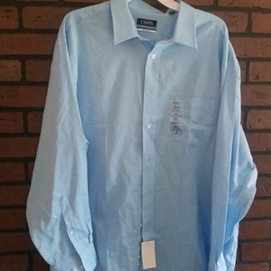 Chaps boys xl size 18 34/35 Long sleeve shirt new
