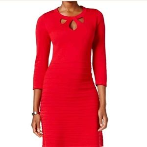 9WEST Great Red Dress for Holidays! RETAIL $89