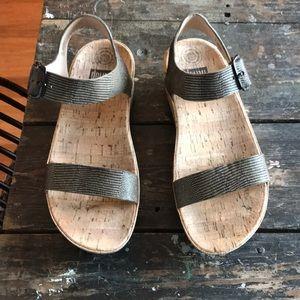Fitflop cork platform sandal Sz9