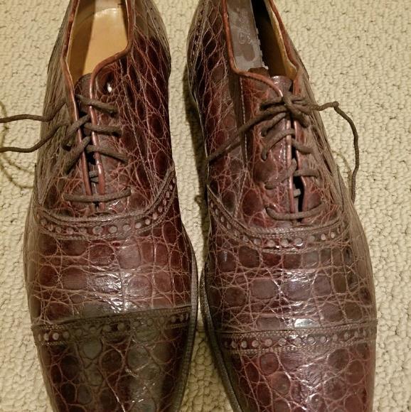 ralph lauren alligator sko for sale