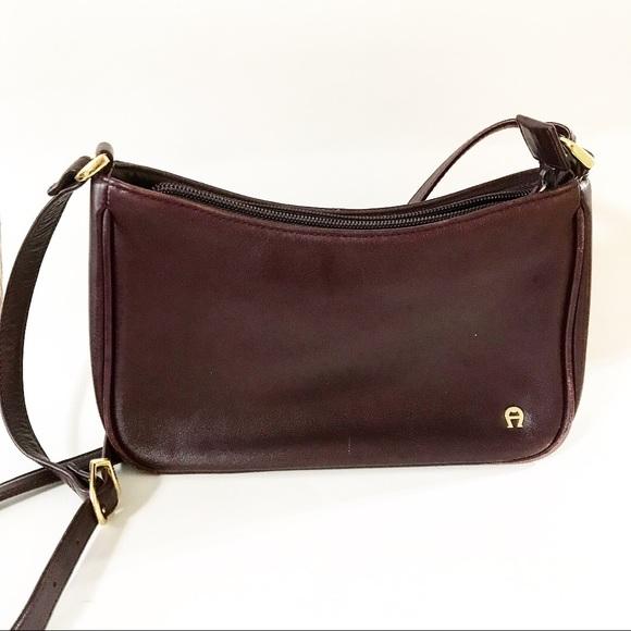 Etienne Aigner Handbags - Vintage Aigner Leather Shoulder Bag 8fce743206320