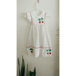 90's Vintage Embroidered Dress