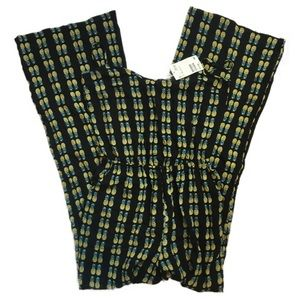 NWT H&M Pineapple jumpsuit size 2