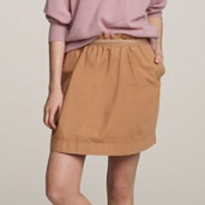 J.Crew cotton bell skirt