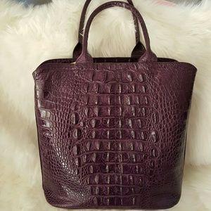Handbags - Hornback genuine croc leather bag nwot