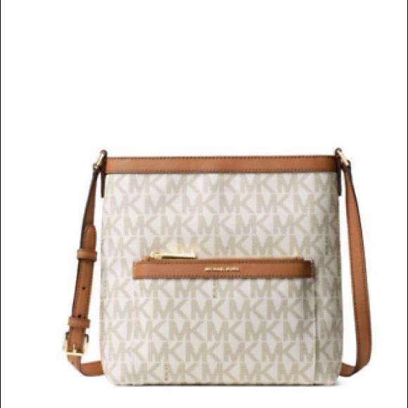 b49afc0b8a76 MICHAEL Michael Kors Bags | Michael Kors Morgan Md Messenger Bag ...
