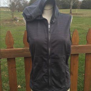 Nike Athletic Hooded Vest Size Medium