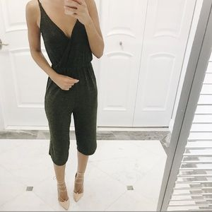 Other - Gold and black jumpsuit