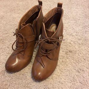 **SALE** 💁🏻♀️ Cognac ankle booties