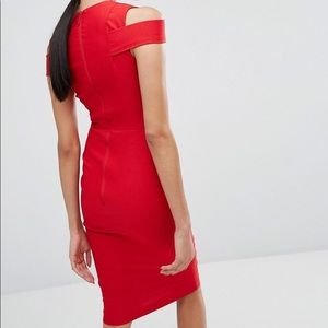 ASOS Dresses - Vesper Bodycon Pencil Dress with Shoulder Cutout