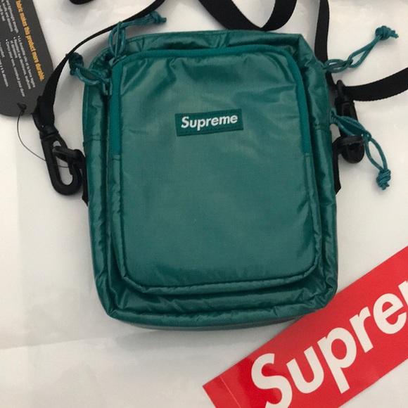 13c8782c23ff Teal Supreme Shoulder Bag