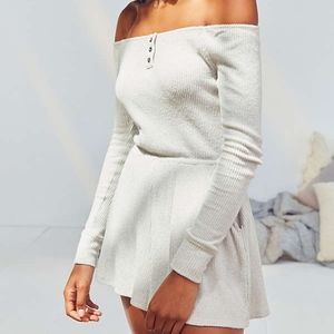 Out From Under Henderson Off-The-Shoulder Romper