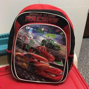Cars 2 Backpack NWOT