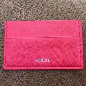 NWOT Sorial Card case