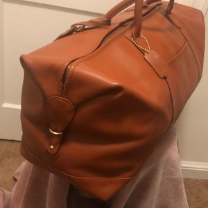 COACH Vintage Luggage 100% LEATHER