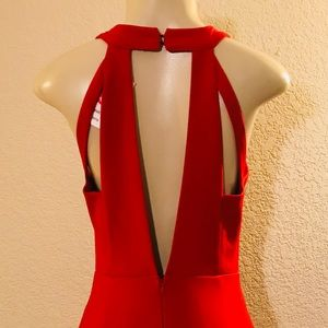 Sexy red dress Nwt