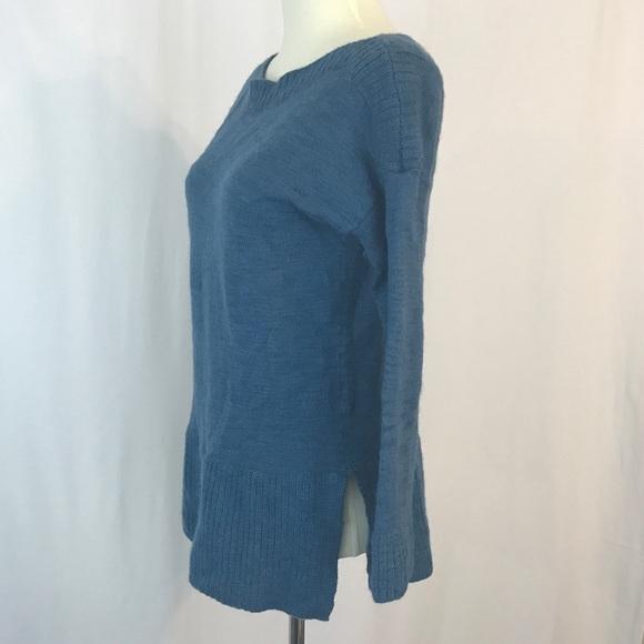 67% off Lou & Grey Sweaters - LOFT Lou & Grey dusty blue sweater ...