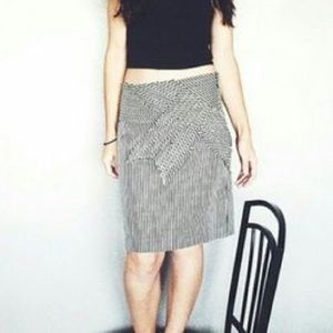 Anthropologie Taikonhu Striped Pencil Skirt - Sz 0