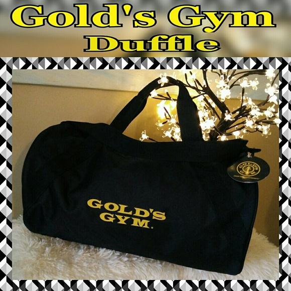86efddc6ebc6 🔖SALE🔖NWT Gold s Gym Large Duffle Bag