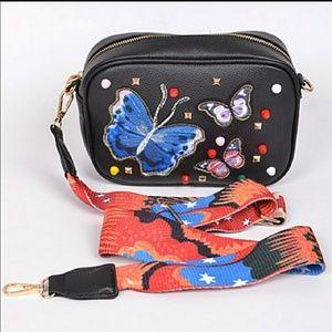 Butterfly Crossbody