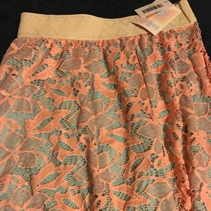 Lularoe unicorn lace lucy maxi skirt