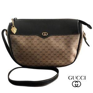 GUCCI Monogram GG Coated Canvas shoulder bag