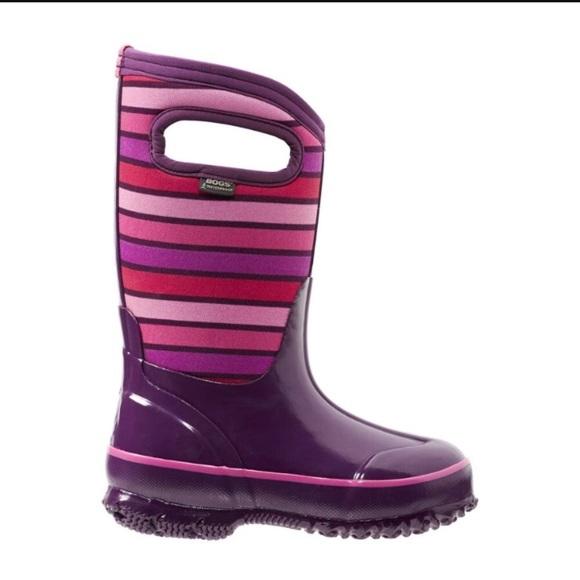 Bogs Shoes   Bogs Winter Boots Girl Sz