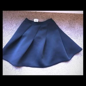 Black skater skirt sz med
