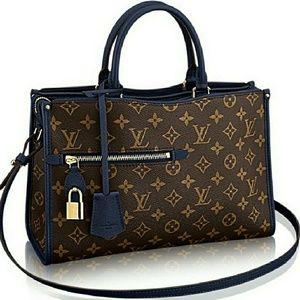 Handbags - POPINCOURT handbag Blue Crossbody Pochette  Clutch