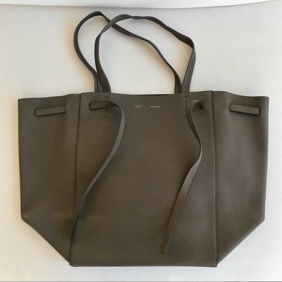 928517d617 Celine Handbags - Authentic Celine Medium Cabas Phantom in Taupe