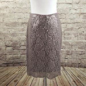 Anthropologie Baraschi Reveillon Sequin Skirt