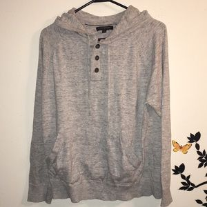 Banana Republic womans gray sweatshirt