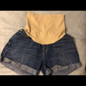 7 For All Mankind maternity shorts
