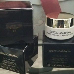 Dolce & Gabbana Liquid Foundation/5 for $10