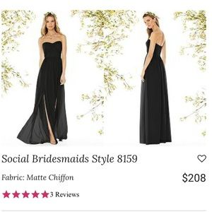 Social Bridesmaid Style 8159