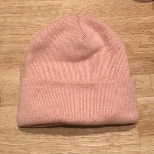 Urban outfitters pink beanie hat - never worn