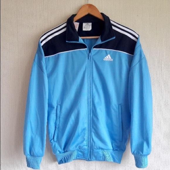 06453e9bf67f adidas Jackets   Blazers - Vintage 90s Adidas 3 Stripe Windbreaker