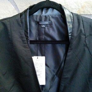 haoduoyi Jackets & Coats - Silver & black ombre sequin sleeve blazer