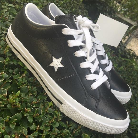 jakość Najnowsza dobra jakość Converse one star leather junior